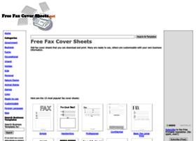 freefaxcoversheets.net