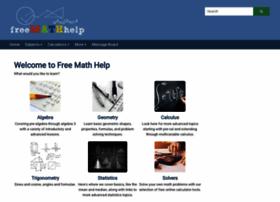 Freemathhelp.com