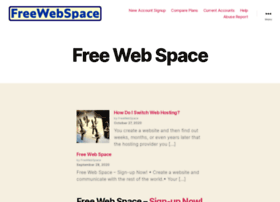 freewebspace.com
