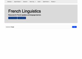 French-linguistics.co.uk