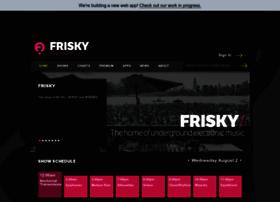 friskyradio.com
