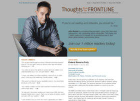 Frontlinethoughts.com