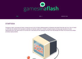 Gamesinaflash.com