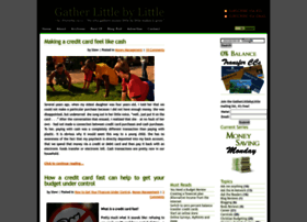 gatherlittlebylittle.com