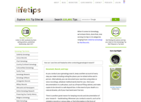 genealogy.lifetips.com