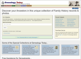 genealogytoday.com