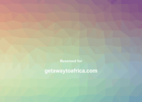 getawaytoafrica.com