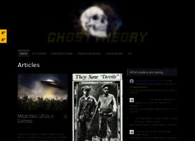 ghosttheory.com