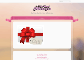 giftcardmessages.com
