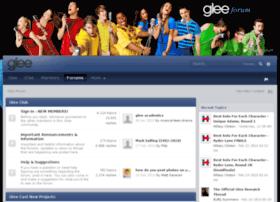 gleeforum.com