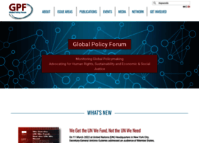 globalpolicy.org
