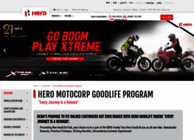 Goodlife.heromotocorp.com