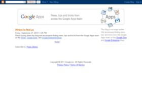 googleapps.blogspot.com