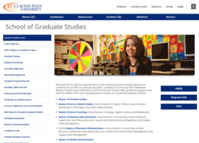 graduate.clayton.edu