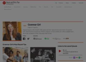 grammar.quickanddirtytips.com