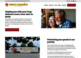 Greatcanadianvanlines.com