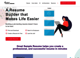 greatsampleresume.com