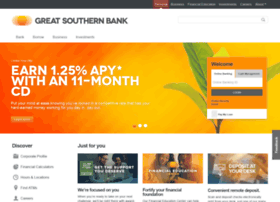 greatsouthernbank.com