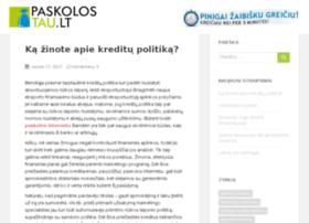 greita-paskola.com