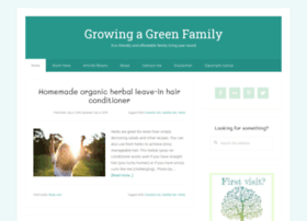 Growingagreenfamily.com