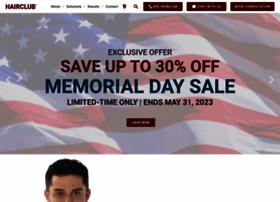 Hairclubofficialsite.com