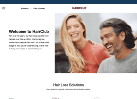 hairclubofficialsite.com