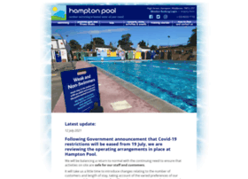 hamptonpool.co.uk