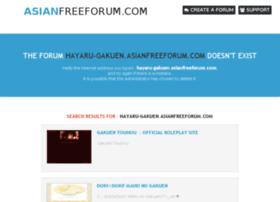 hayaru-gakuen.asianfreeforum.com