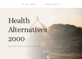 Healthalternatives2000.com