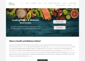 healthandwellnessonline.org