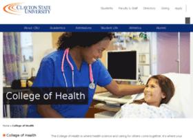 healthsci.clayton.edu