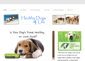 healthyfood4dogs.info