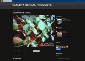Healthyherbalproducts.blogspot.com