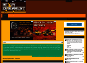 heavyequipmentforums.com