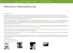 helpingteens.org