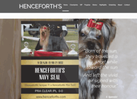 Henceforths.com