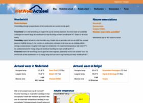 hetweeractueel.nl