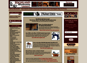 highlandwoodworking.com