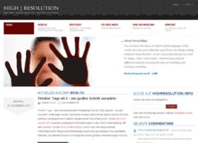 Highresolution.info