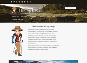 hikinglady.com