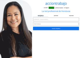 hn.acciontrabajo.com