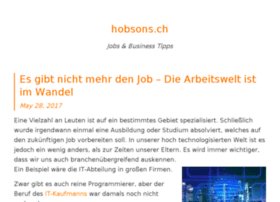 hobsons.ch