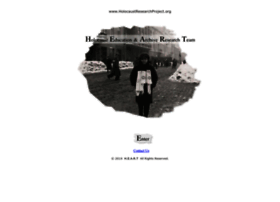 holocaustresearchproject.org