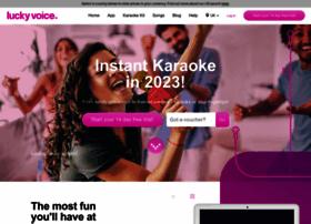 home.luckyvoice.com