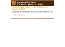 homepages.wmich.edu