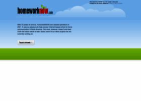 homeworknow.com