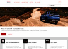 Hondafinancialservices.com