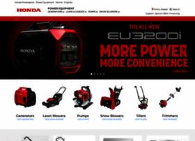 hondapowerequipment.com