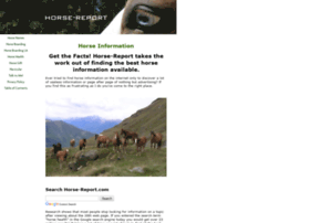 horse-report.com