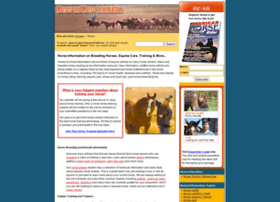horses-and-horse-information.com